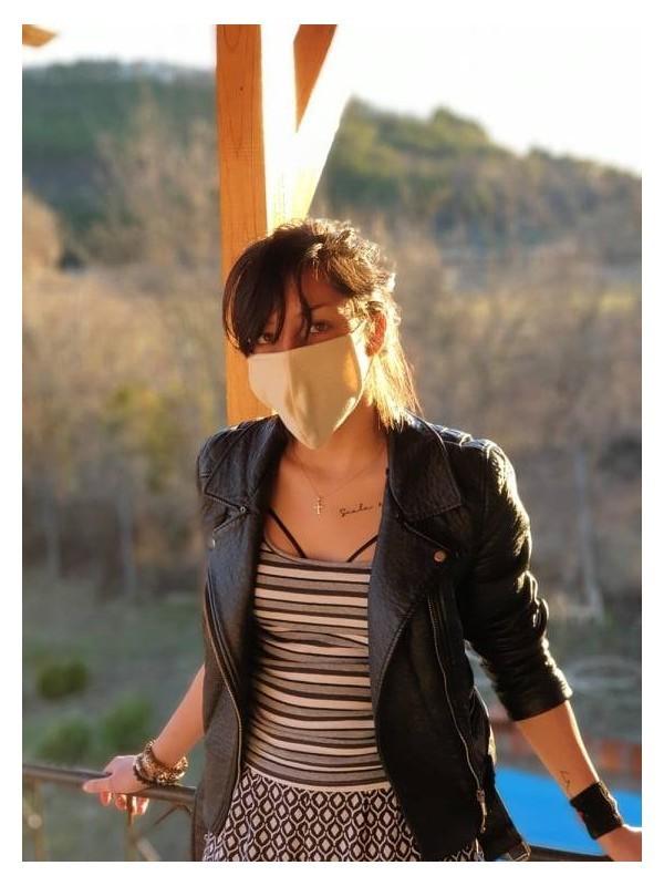 Защитна маска от конопена тъкан