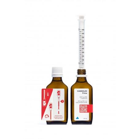 Cannolex Prime бутилка конопено масло