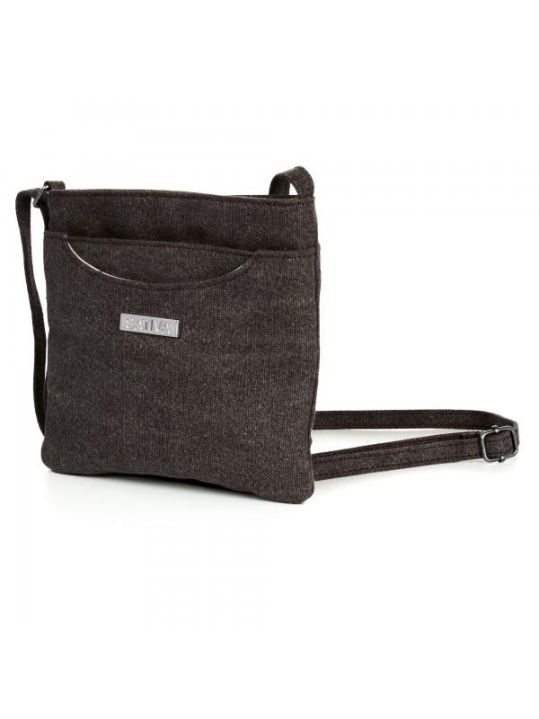 Hemp Flat Shoulder Bag