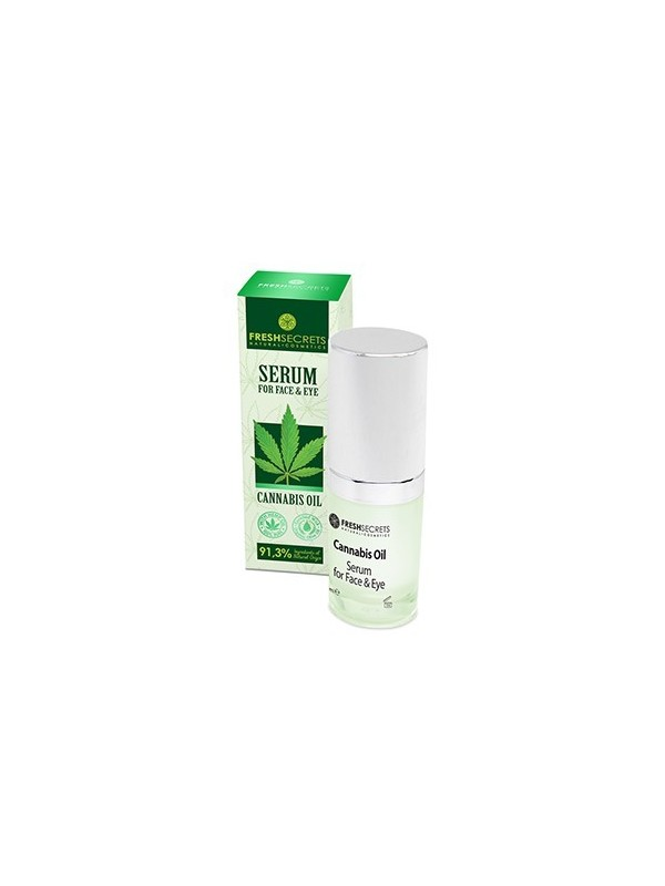 Face & Eye Serum With Cannabis - Fresh Secrets