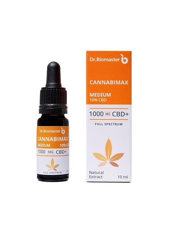 Cannabimax Medium 1000mg. CBD масло